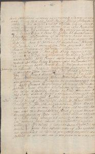Zastaw Konopatu wobec Klińskich 1708 roku