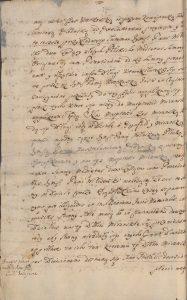 Konopacki z Kretkowskim podział dóbr Mirańskich 1695 roku