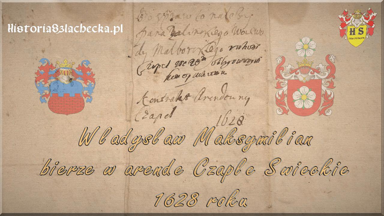 Władysław arenda Czapel świeckich 1628 roku